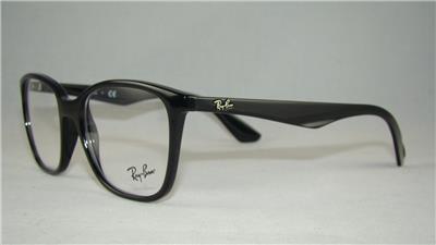 bab5284aa8d Ray Ban RB 7066 2000 BLACK +Orig Case Glasses Eyeglasses Frames Size ...