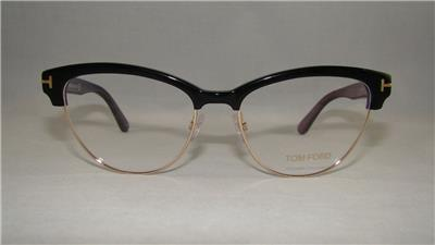 877233522e TOM FORD TF 5365 005 Black   Gold Brille Glasses Frames Eyeglasses ...
