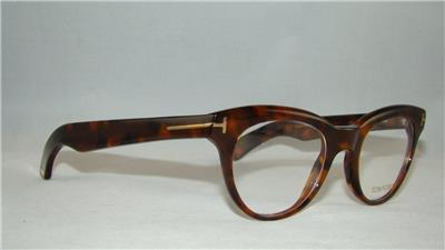 4afc4b0d1ce Tom Ford TF 5378 052 Dark Havana Unisex Glasses Frames Eyeglasses Size 49