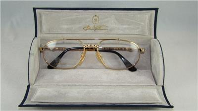 b4c9daaea8b16 NEW RARE VINTAGE ETTORE BUGATTI EB 503 0104 GOLD Eyeglasses Frames ...
