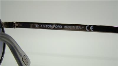 9bc7287bde JAMES BOND SKYFALL Tom Ford Marko TF 0144 08B Gunmetal Black Aviator ...