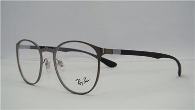 8975e95418 Ray Ban RB 6355 2620 Gunmetal   Black Glasses Eyeglasses Frames Size ...
