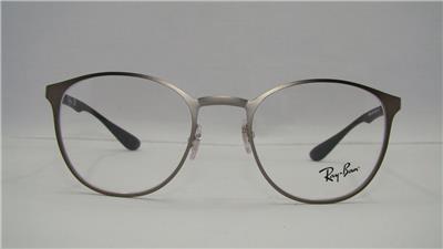 6939ea77e0 Ray Ban RB 6355 2620 Gunmetal   Black Glasses Eyeglasses Frames Size ...