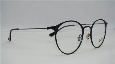 203a227634 Ray Ban RB 6378 2904 Black Brille Glasses Eyeglasses Frames Size 47 ...