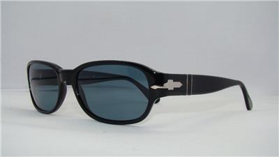 fdc635d0a25 Persol 3022 95 4N Black Photocromatic Polarized Sunglasses Sonnenbrille  Size 56