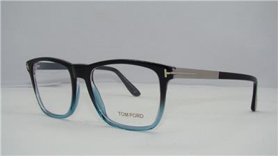 4993156b14 Tom Ford TF 5351 05A Black   Blue Unisex Glasses Frames Eyeglasses Size 54