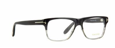 08ead5db918 Tom Ford TF 5312 005 Black   Grey Unisex Glasses Frames Eyeglasses Size 54