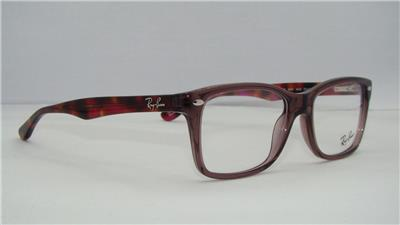 7086624a969 Ray Ban RB 5228 5628 Opal Brown   Havana Glasses Eyeglasses Frames Size 48