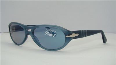 9116557264b Persol 2622 224-S 46 Blue Women s Sunglasses Sonnenbrille Blue Lens Size 55