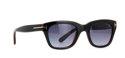5a3e124a701 Tom Ford Snowdon TF0237 05B James Bond Spectre Black   Havana Sunglasses  50mm