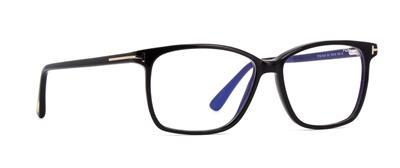 1de5d5a89d52 TOM FORD TF 5478 B 001 Blue Control Black Brille Glasses Frames Eyeglasses  55mm