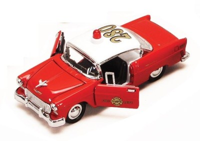 SUPERIOR   1955 Chevy Bel Air Fire Dept 134 ~ G Scale
