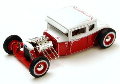 Maisto Custom Shop 1929 Ford Model A Hot Rod Diecast Car 1 24 G Scale RW