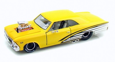 Maisto Custom Shop 1966 Chevrolet Chevelle SS 396 1 24 G Scale YW B