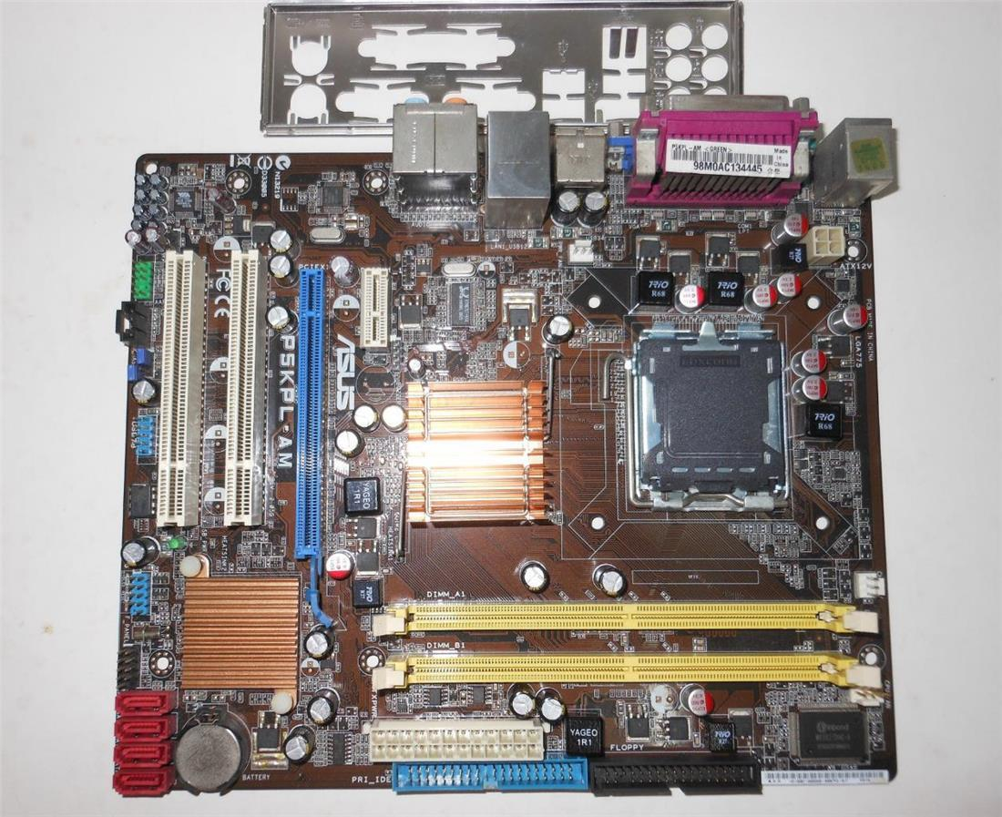 asus motherboard p5kpl sound driver free download
