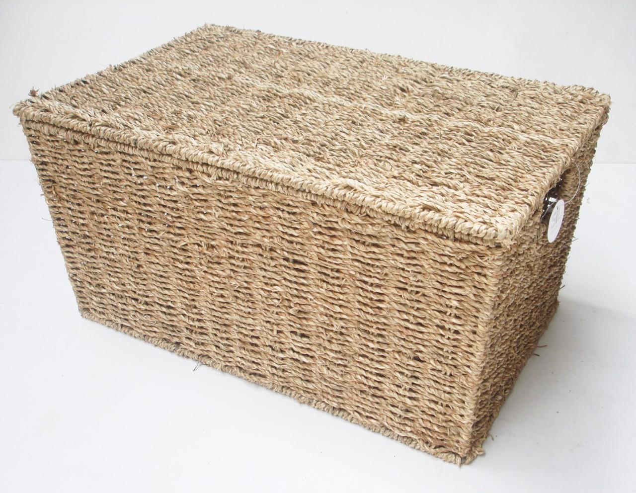 seagrass storage chest trunk big baskets kids childern toy