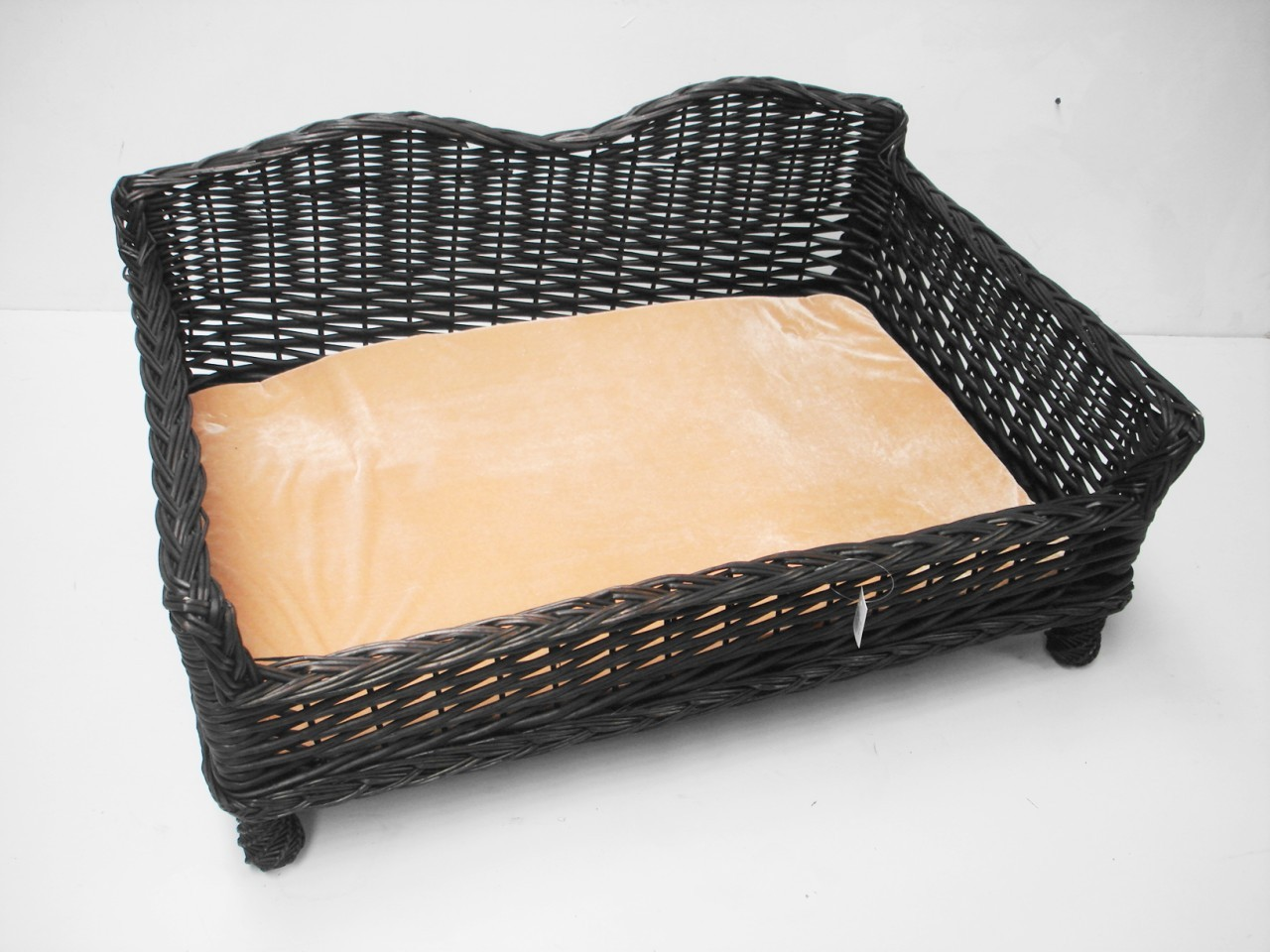 Giant Huge Big Wicker Willow Dog Pet Bed Basket Sofa Couch