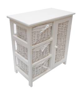 assembl commode tiroir salle manger couloir table de chevet unit de stockage ebay. Black Bedroom Furniture Sets. Home Design Ideas