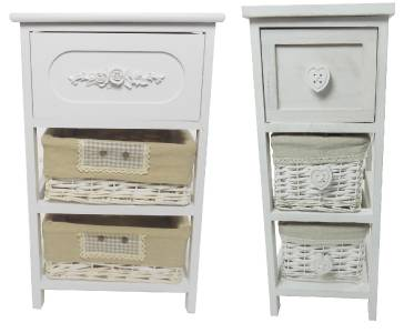 Shabby Chic Slim Narrow Wide Chest Of Drawer Hallway