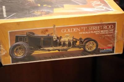 Monogram Revell 2609 1 8 Scale Golden T Street Rod Model Kit Unopened New