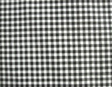 Black Gingham Check Kitchen Patio Dine Bbq Oilcloth Vinyl