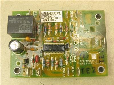 control board hvac control boards on salehoneywell l8104 b 2015 auto gas shutoff control circuit board 24vac