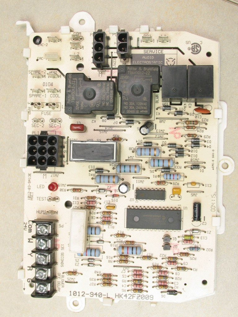 Carrier Furnace Control Board Wiring Diagram Library Pump Defrost On Circuit Replacement Cost Bryant Hk42fz009 Goodman