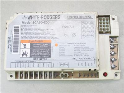 white rodgers ignition control wiring diagram white rodgers 50a50-206 furnace control circuit board ...