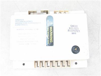 United Technologies 611-511 Control Module Circuit Board B1370723 SX611