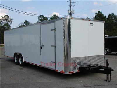 NEW 2012 Elite Series 8.5X28 Enclosed Cargo Carhauler Trailer