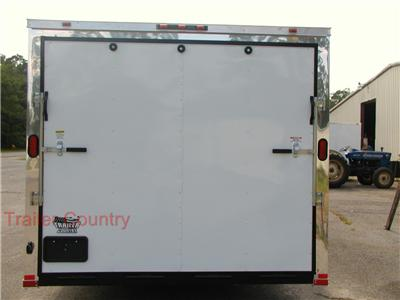 NEW 2012 Elite Series 8.5X28 Enclosed Cargo Carhauler Trailer