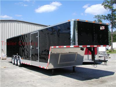 NEW 8.5 X 38 Enclosed Gooseneck Cargo Carhauler Trailer