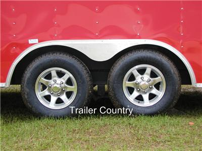 NEW 8.5 x 24 Enclosed Carhauler Cargo Trailer 10K Axles