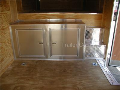NEW 8.5 x 40 Enclosed Gooseneck Cargo Carhauler Trailer