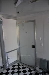 NEW 8.5 X 24 8.5X24 CUSTOM V NOSED ENCLOSED CARGO TRAILER W/ Bathroom