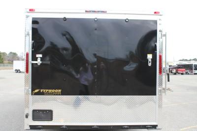 NEW 2012 8.5 X 36 ENCLOSED GOOSENECK CARGO TRAILER