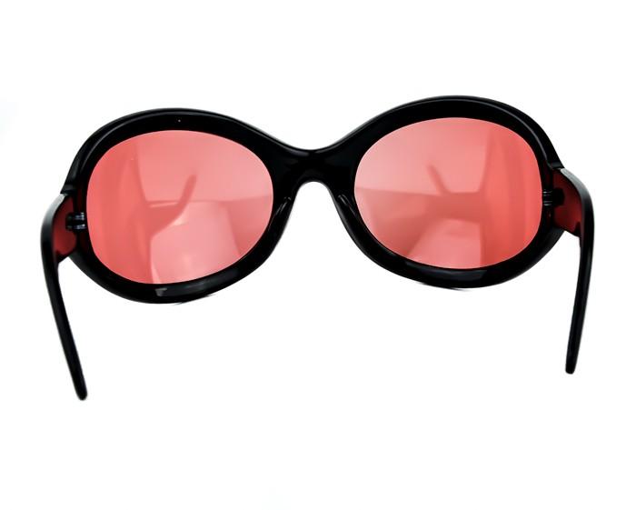 1a61169b2d Red Lens Gothic Vampire Sunglasses Oversized Sexy Lolita Deathrock  Rockabilly