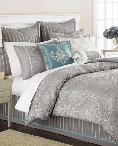 New Martha Stewart Briercrest 9pc Queen Comforter Set