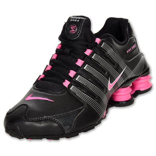 new styles 91e2b 10b8e NIKE SHOX NZ 2.0 KIDs RUNNING BLK PINK WHT NEW IN BOX Z