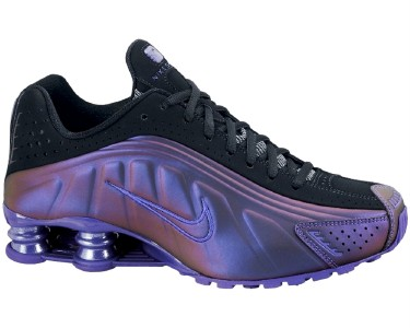 0a34cc4a4965 NIKE SHOX R4 LE RUNNING CLUB PURPLE  BLK WMNS SIZEs NEW on PopScreen