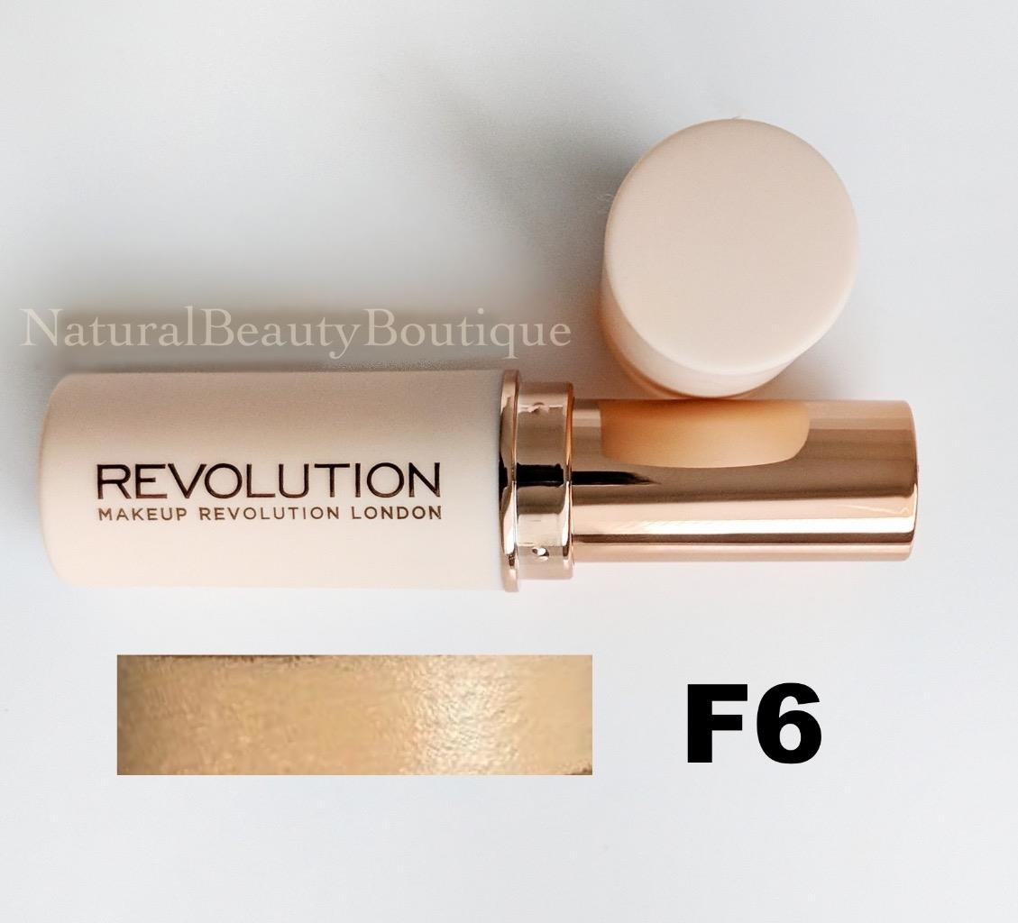 Makeup revolution foundation stick f4
