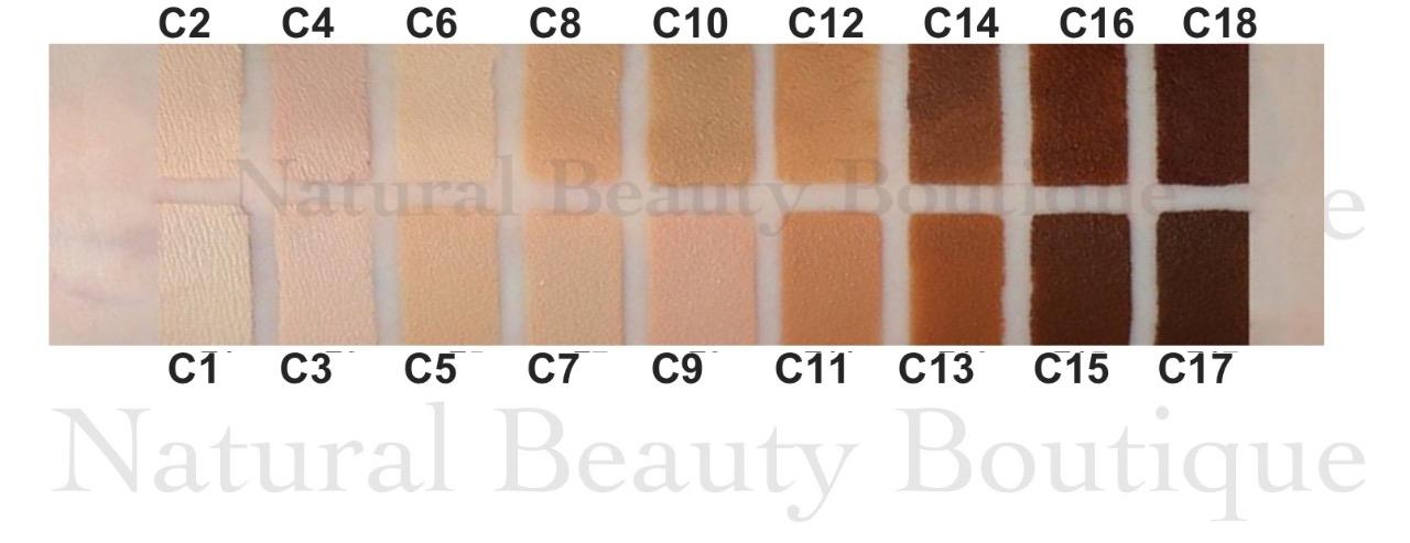 Details about MAKEUP REVOLUTION PRO Full Coverage CAMOUFLAGE Base CONCEALER  Shades C1 , C18