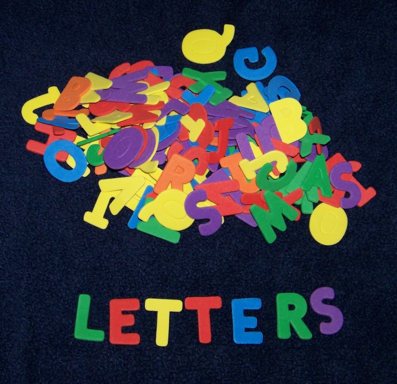 "Alphabet Shaped Foam 1"" Letters ABC Kid Craft Choice Of A"