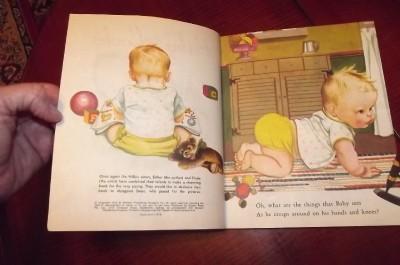 Little Golden Book Baby Looks Esther Eloise Wilkin 231 Sydney Gorgeous Soft LGB
