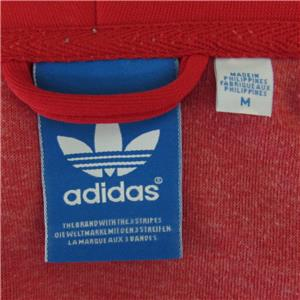 Homme Vintage Adidas Originals Sweat à Capuche Veste De Survêtement Haut Liverpool Rétro Britpop Medium   eBay