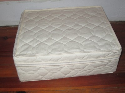 Lot Of 3 Quilted Cloth China Amp Glass Packing Boxes Storage