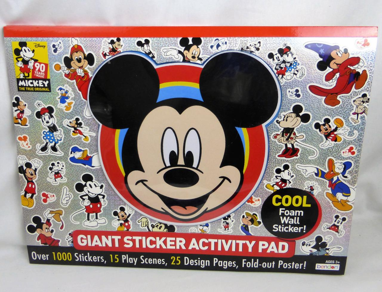 Mickey Mouse Giant Stickers Foam Wall Activity Pad Play Scen