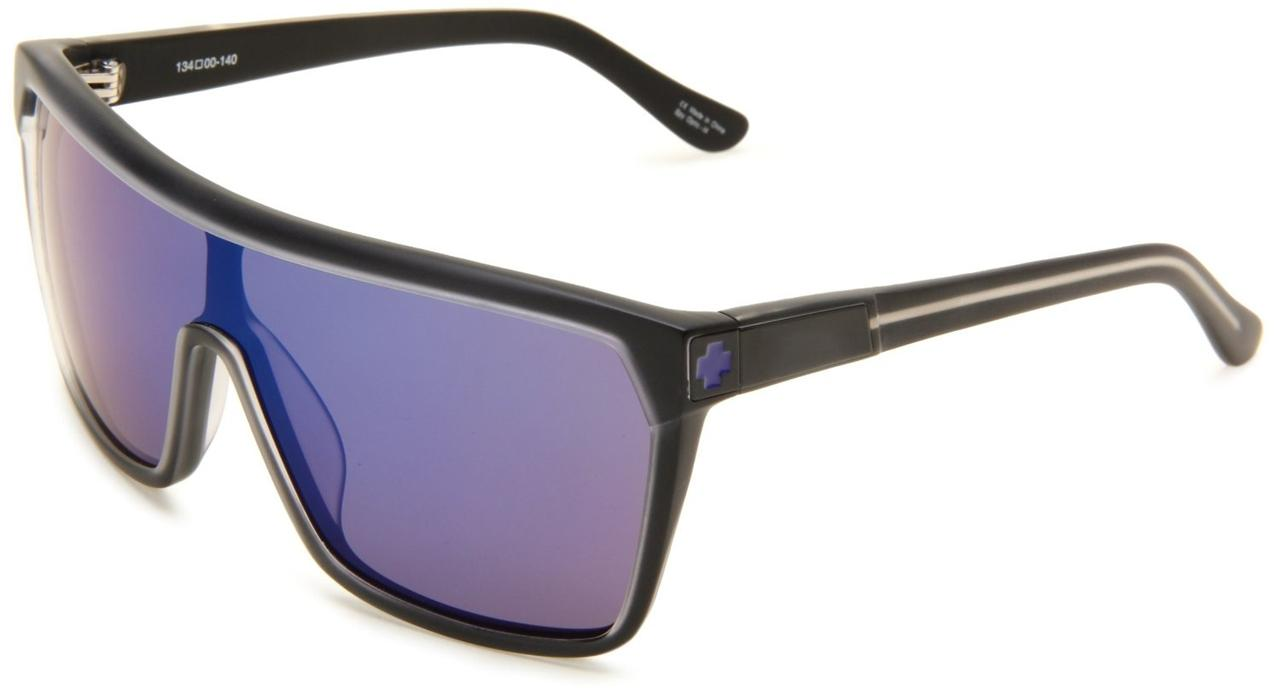 SPY FLYNN Sunglasses Black Ice Collection Purple Spectra ...