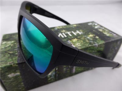 7c231267ef9c3 Smith Sunglasses. MASTERMIND. Matte Black - Polarised Green Sol X Lenses