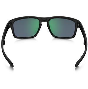 a61e728a7c2 Oakley SLIVER F Sunglasses Matte Black Ink - Jade Lens - Fold-able ...